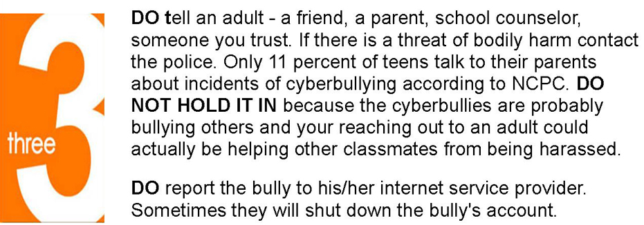 What To Do If You Are Cyberbullied by HeyUGLY.org