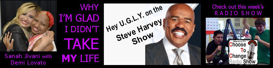 Demi Lovato and Steve Harvey Banner