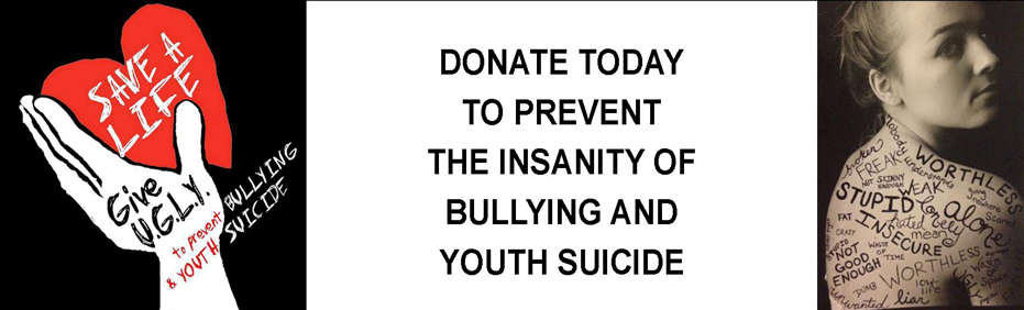 Donate To Prevent Youth Suicide at HeyUGLY