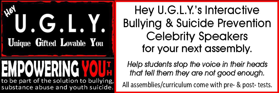 Anti-bullying & suicide prevention speakers