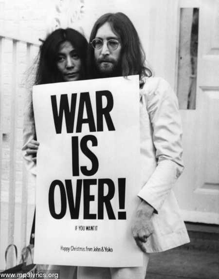 john lennon quotes about war. By John Lennon